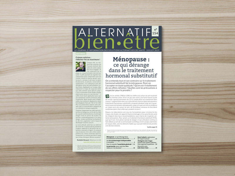 Alternatif Bien-Être n° 154 : numéro du mois de juillet